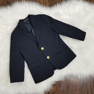 Navy Blue Blazer | Kids Size 4 Two Button Jacket